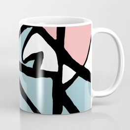 Abstract Painting Design - Flight Coffee Mug