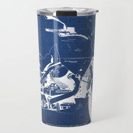 2010 Moto Guzzi Stelvio 1200 4V blueprint Travel Mug