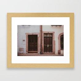 Pastel Pairing Framed Art Print