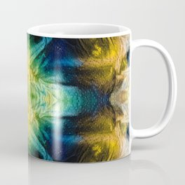 Emerald Kiss Abstract Art by Sharon Cummings Coffee Mug