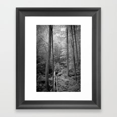In the thick of it Framed Art Print