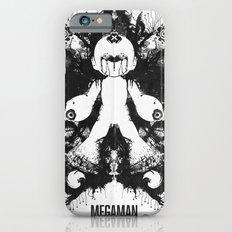 Megaman Geek Ink Blot Test iPhone 6s Slim Case