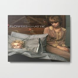 Attic Of Flowers Metal Print
