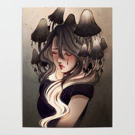 Inky cap Poster