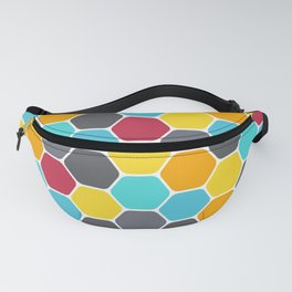 Honeycombs and colours Fanny Pack