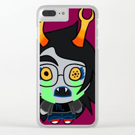 The Binding of Homestuck Scorpio Clear iPhone Case
