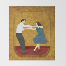 Swing Dance Throw Blanket