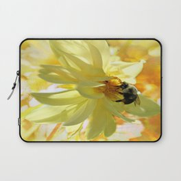 Busy Bumble Bee Laptop Sleeve