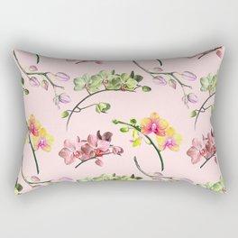 Orchid Craze Rectangular Pillow