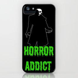Horror Addict iPhone Case
