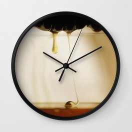 Honey Gold Wall Clock