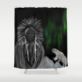 Eskimo-woman Shower Curtain