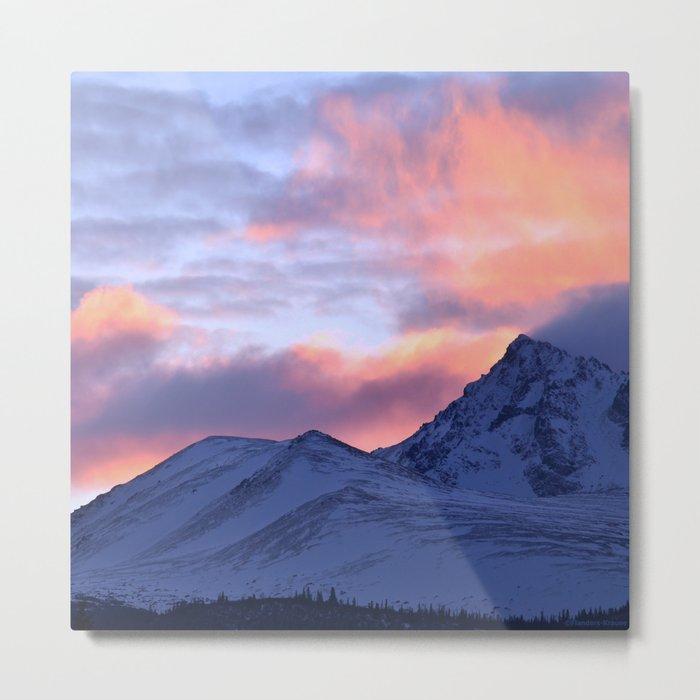 Rose Serenity Sunrise - II Metal Print