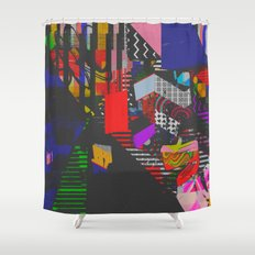 Colorblind Shower Curtain