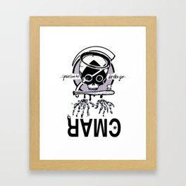 you dont know shit Framed Art Print