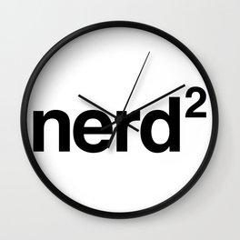 Nerd Wall Clock