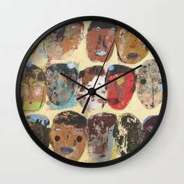 Folks Aware Wall Clock