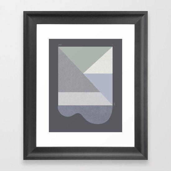 LINCOLN SLOAT FOG Framed Art Print