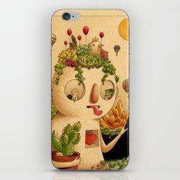 Succulent Man iPhone Skin