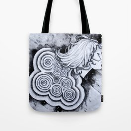 Restless Rain Tote Bag