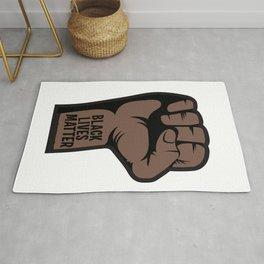 Fist up - Black Lives Matter Rug