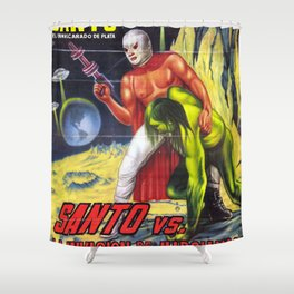 La Invasion Shower Curtain