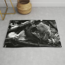 Koala is Sleeping Rug