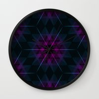 geode Wall Clocks featuring Geode by Matt Borchert