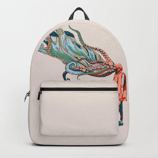 Octopus in me Backpack