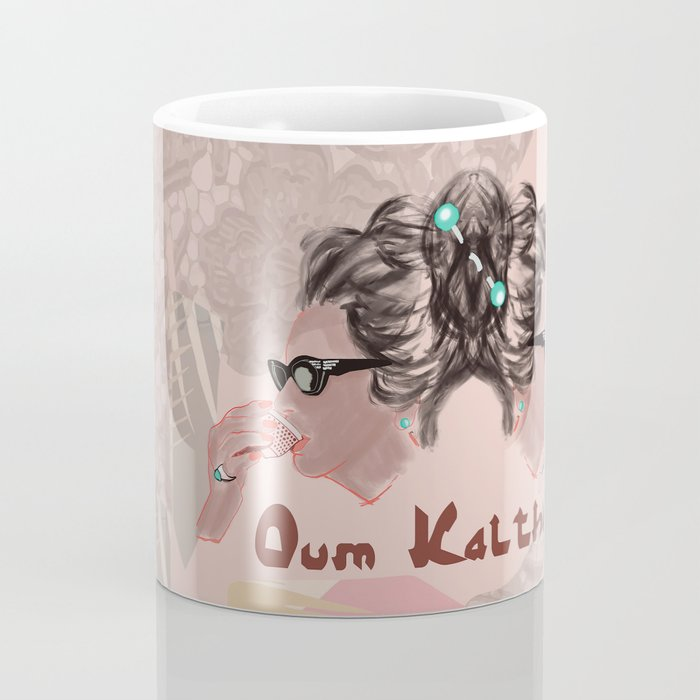 OUM KALTHOUM: VOICE OF EGYPT Coffee Mug