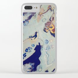 Under the Sea 1 Clear iPhone Case