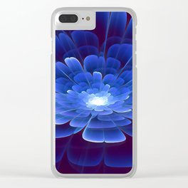 Blossom of Infinity Clear iPhone Case