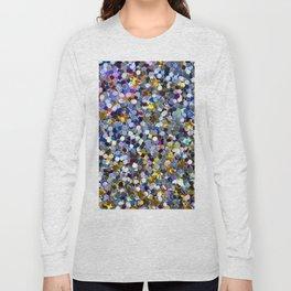 Rainbow Sequins Long Sleeve T-shirt