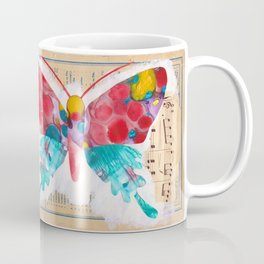 French Butterfly Coffee Mug