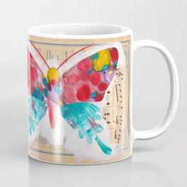French Butterfly Coffee Mug