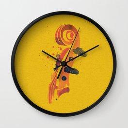 Symphony Series: Violin Wall Clock