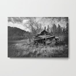 Abandoned House in Oregon Metal Print