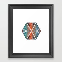 Hexagon 1 Framed Art Print