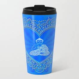 Buddha Icon (Blissful & Calm) Travel Mug