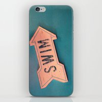 swim iPhone & iPod Skins featuring swim by Sylvia Cook Photography