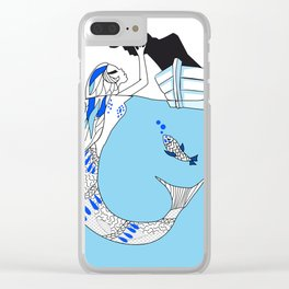 Pisces / 12 Signs of the Zodiac Clear iPhone Case