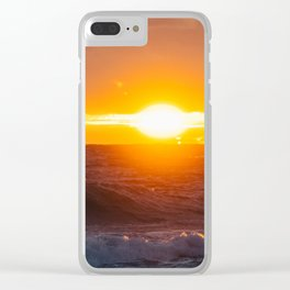 Sunrise of the East Clear iPhone Case