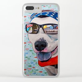 Asap Lake Time Clear iPhone Case