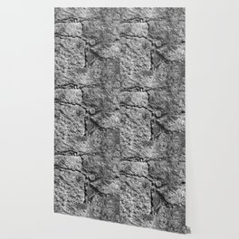 Old igneous stone wall Wallpaper