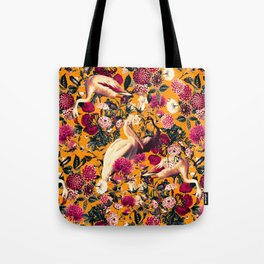 FLORAL AND BIRDS XVI Tote Bag