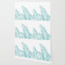 Palm Leaves Island Paradise Wallpaper