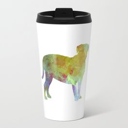Dogo de Bordeaux in watercolor Travel Mug
