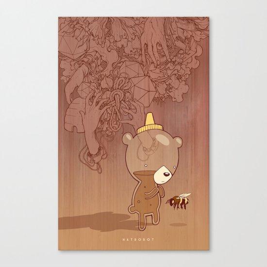 Honeyrama Canvas Print