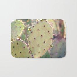 Prickly Pear Closeup Bath Mat