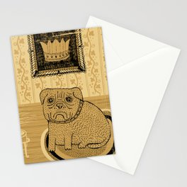 Princess. French bullmastiff Stationery Cards